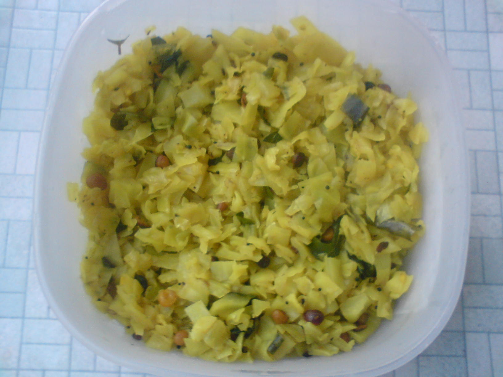 Cabbage Sabzi picture